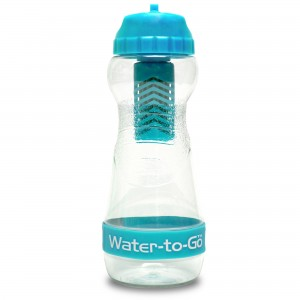 Blue 500ml GO water to go bottle
