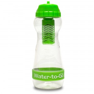Green 500ml water to go bottle